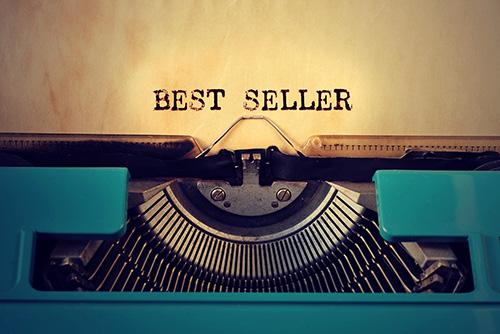 """Typewriter typing """"Best Seller"""""""