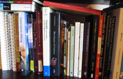 Great books on a shelf